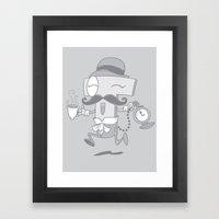 It's T time! Framed Art Print