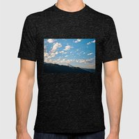 Mountain in the Clouds Mens Fitted Tee Tri-Black SMALL
