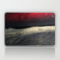 RED AND WHITE Laptop & iPad Skin