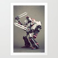 Megatron (Animated) Art Print