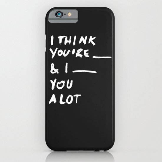 ____ iPhone & iPod Case