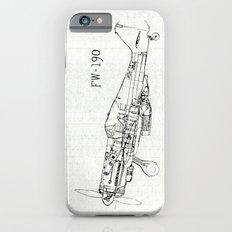 FW - 190 ( B & W) iPhone 6s Slim Case