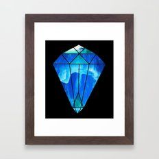 Ice Ice Baby Framed Art Print
