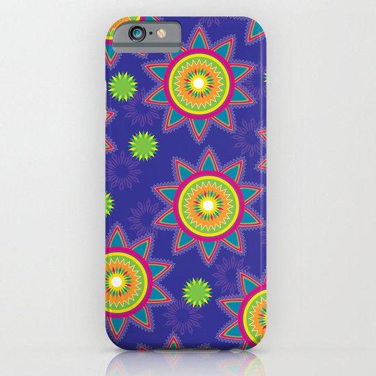 Moroccan Flower Purple iPhone & iPod Case