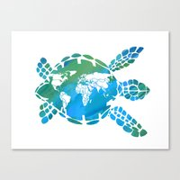 Mother Earth II Canvas Print