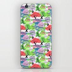 Japanese Garden Pattern_… iPhone & iPod Skin