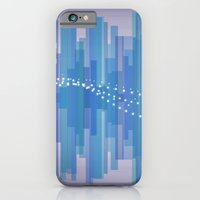 iPhone & iPod Case featuring Blasting Waves by mentalX