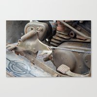Rusty Harley Canvas Print