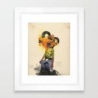 Mingadigm   See Me Framed Art Print