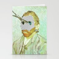 In Vincent´s Face · 1 Stationery Cards