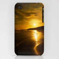 iPhone 3Gs & iPhone 3G Cases featuring Evenings over by Peaky40