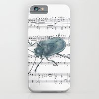iPhone & iPod Case featuring Music Beetle by Sarah Sutherland