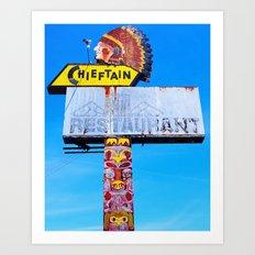 The Chieftain Art Print