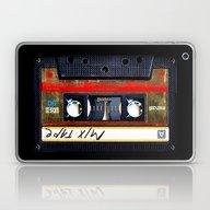 Retro Cassette Mix Tape Laptop & iPad Skin