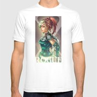 ROGUE Mens Fitted Tee White SMALL