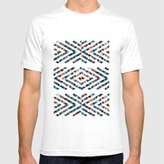 INDIAN - TOTEM White SMALL Mens Fitted Tee