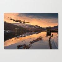 Lancaster Sunrise Canvas Print