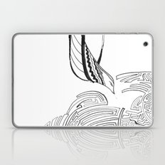 Squiggly Cloud and Squiggly Bird Laptop & iPad Skin