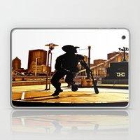 Roberto's Shadow Lives In Roberto's City Laptop & iPad Skin