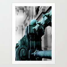 Labyrinth Scorn Art Print