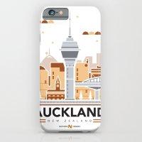 City Illustrations (Auckland, New Zealand) iPhone 6 Slim Case