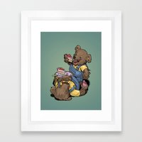 The Bears Framed Art Print