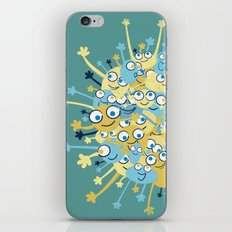 Bubbly Creatures Print iPhone & iPod Skin
