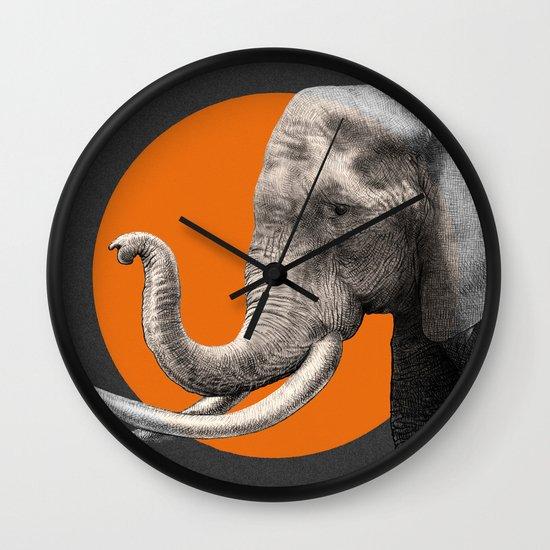 Wild 6 by Eric Fan & Garima Dhawan Wall Clock