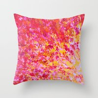 ROMANTIC DAYS - Lovely S… Throw Pillow