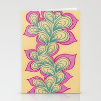 Drops And Petals 2 Stationery Cards
