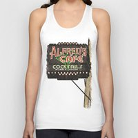 Alfred's Cafe Unisex Tank Top