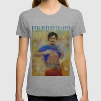 Manny Pacquiao - Pound 4 Pound Womens Fitted Tee Athletic Grey SMALL