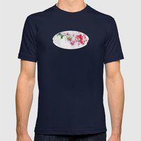 Fleur Mens Fitted Tee Navy SMALL