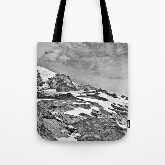 Rugged Mountain Hike Tote Bag