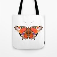 Geobutterfly Tote Bag