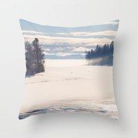 Bright December Throw Pillow
