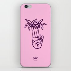Peace Palms iPhone & iPod Skin