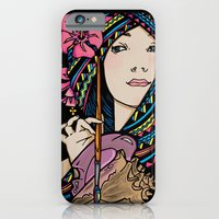 iPhone & iPod Case featuring Tribal Artist by Anna-Lise