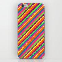 Crazy Colorz iPhone & iPod Skin