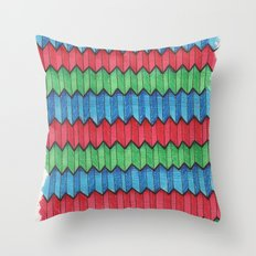Pattern Doodle Four Throw Pillow