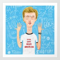 Napoleon, what do you think? Gosh! Art Print