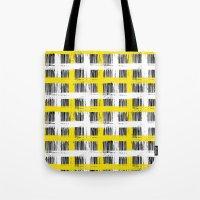 Simple plaid Tote Bag