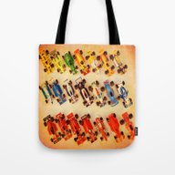 RACE CARS Tote Bag