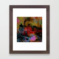 Arrival Of The Train Of … Framed Art Print