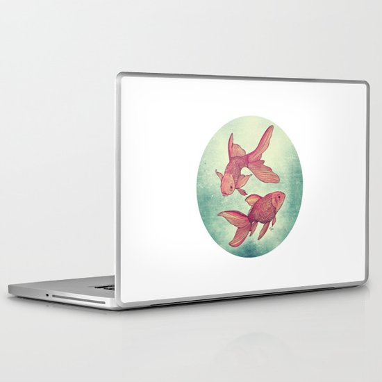 Goldfishes Laptop & iPad Skin