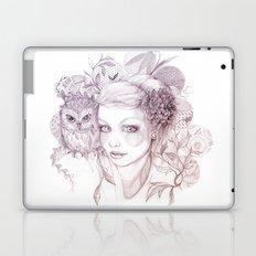 Felt Heart Laptop & iPad Skin