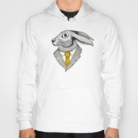 Hoody featuring El conejo careta by Juan Weiss