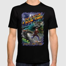 To Catch a Book Thief Mens Fitted Tee SMALL Black