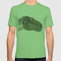 T-Rex Mens Fitted Tee Grass SMALL