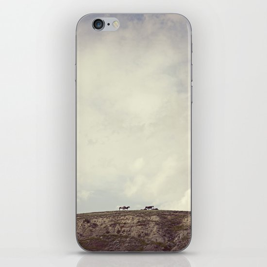 wild horses iPhone & iPod Skin